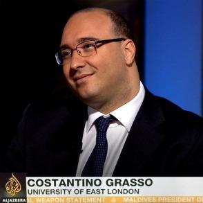 Costantino Grasso Aljzeera Interview